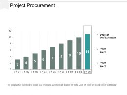 Project Procurement Ppt Powerpoint Presentation Icon Themes Cpb