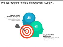 Project Program Portfolio Management Supply Chain Risk Management Cpb