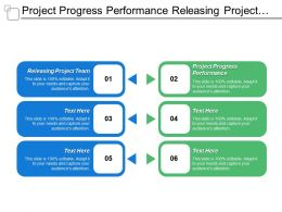 Project Progress Performance Releasing Project Team Completion Delivery
