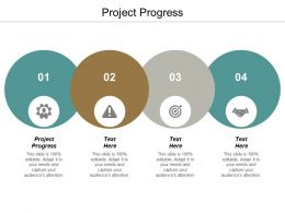 Project Progress Ppt Powerpoint Presentation Infographic Template Designs Download Cpb
