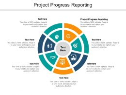 Project Progress Reporting Ppt Powerpoint Presentation Inspiration Summary Cpb