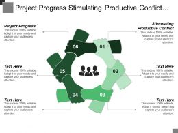 Project Progress Stimulating Productive Conflict Focus Superordinate Goals