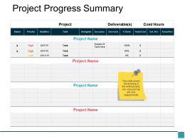 project_progress_summary_powerpoint_slide_inspiration_Slide01