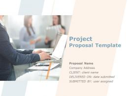 Project Proposal Template Powerpoint Presentation Slides