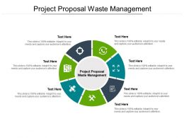 Project Proposal Waste Management Ppt Powerpoint Ideas Summary Cpb