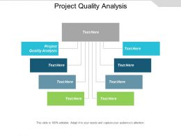 Project Quality Analysis Ppt Powerpoint Presentation Portfolio Gridlines Cpb