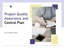 Project Quality Assurance And Control Plan Powerpoint Presentation Slides