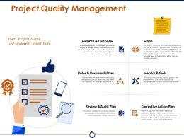 Project Quality Management Ppt Images Gallery