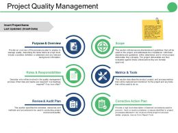 Project Quality Management Ppt Picture