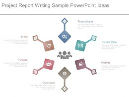 Project Report Writing Sample Powerpoint Ideas