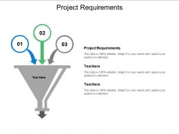 Project Requirements Ppt Powerpoint Presentation Ideas Format Ideas Cpb