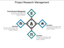 Project Research Management Ppt Powerpoint Presentation Icon Slide Portrait Cpb