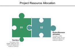 Project Resource Allocation Ppt Powerpoint Presentation File Elements Cpb