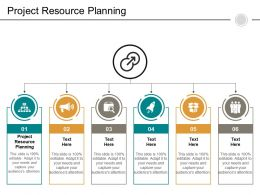 Project Resource Planning Ppt Powerpoint Presentation Infographics Vector Cpb