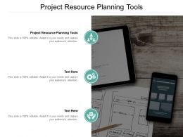 Project Resource Planning Tools Ppt Powerpoint Presentation Inspiration Example Topics Cpb