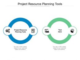 Project Resource Planning Tools Ppt Powerpoint Presentation Professional Visuals Cpb