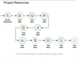Project Resources Ppt Powerpoint Presentation File Designs Download Cpb