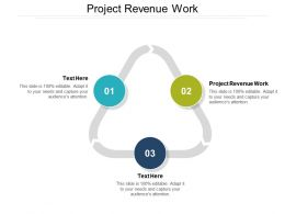 Project Revenue Work Ppt Powerpoint Presentation Slides Format Ideas Cpb