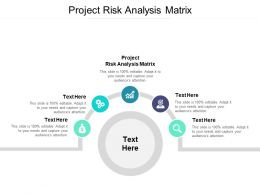 Project Risk Analysis Matrix Ppt Powerpoint Presentation Image Cpb