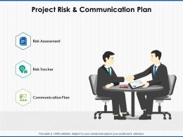 Project Risk And Communication Plan Risk Tracker Ppt Powerpoint Presentation