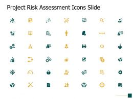 Project Risk Assessment Icons Slide Growth Strategy Ppt Powerpoint Slides