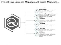 project_risk_business_management_issues_marketing_segmentation_strategy_cpb_Slide01