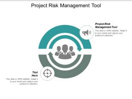 Project Risk Management Tool Ppt Powerpoint Presentation Icon Design Templates Cpb