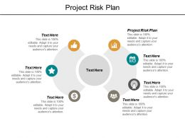 Project Risk Plan Ppt Powerpoint Presentation Outline File Formats Cpb