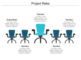 Project Risks Ppt Powerpoint Presentation Infographic Template Slideshow Cpb