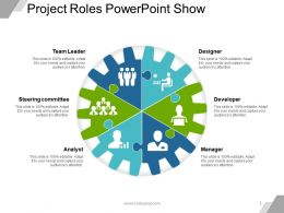 Project Roles Powerpoint Show