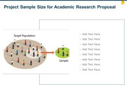 Project Sample Size For Academic Research Proposal Ppt Powerpoint Inspiration