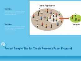 Project Sample Size For Thesis Research Paper Proposal Ppt Outline