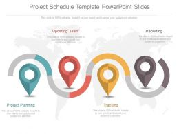 Project Schedule Template Powerpoint Slides