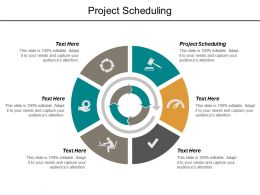 Project Scheduling Ppt Powerpoint Presentation Outline Format Cpb