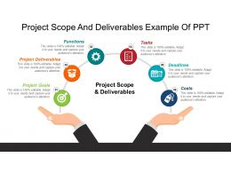Project Scope And Deliverables Example Of Ppt