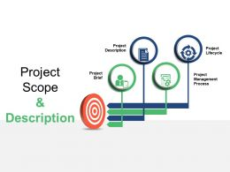 Project Scope And Description Ppt Infographics Example File