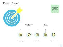 Project Scope Assumptions Ppt Powerpoint Presentation Guide