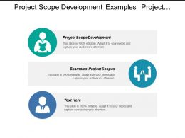 project scope development examples project scopes estimate costs cpb