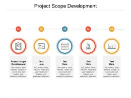 Project Scope Development Ppt Powerpoint Presentation Inspiration Master Cpb