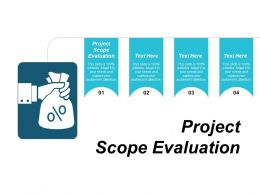 Project Scope Evaluation Ppt Powerpoint Presentation Infographic Template Smartart Cpb
