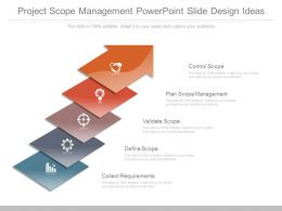 Project Scope Management Powerpoint Slide Design Ideas