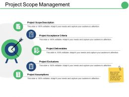 Project Scope Management Ppt Outline Graphic Tips