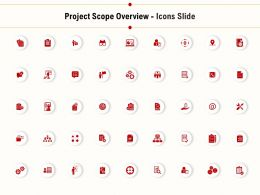 Project Scope Overview Icons Slide Ppt Presentation Example File