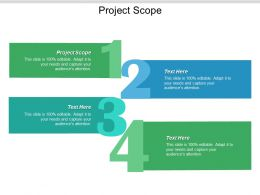 Project Scope Ppt Powerpoint Presentation Portfolio Maker Cpb