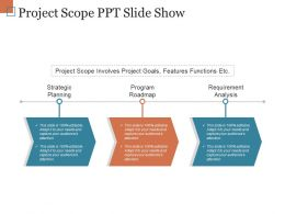Project Scope Ppt Slide Show