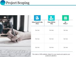 Project Scoping Calendar Ppt Powerpoint Presentation Inspiration Design Inspiration