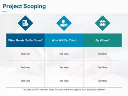 Project Scoping Ppt Professional Design Inspiration