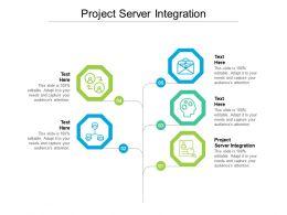 Project Server Integration Ppt Powerpoint Presentation Portfolio Visual Aids Cpb