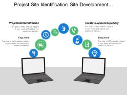 Project Site Identification Site Development Capability Customer Satisfaction
