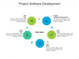 Project Software Development Ppt Powerpoint Presentation Styles Ideas Cpb
